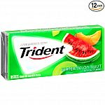 12-pk Trident Sugar Free Gum, Watermelon Twist, 18-Pc $1.49