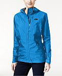 The North Face Waterproof Resolve Plus Jacket $42, Arcata Hoodie $46, Calentito Windproof Jacket $46