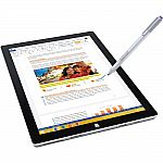 "Microsoft Surface Pro 3 12"" tablet (i5-4300U 128GB 4GB 2160 x 1440) $620"