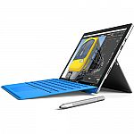 """Microsoft 12.3"""" Surface Pro 4 Multi-Touch Tablet (i5 6300U 8GB 256 GB) $849 (For Students)"""