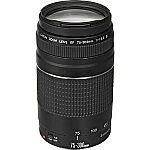 Canon EF 75-300mm f/4-5.6 III USM Lens (Refurb w/1yr warranty) $70