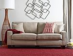 "Serta RTA Palisades Collection 73"" Sofa in Silica Sand $266"