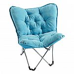 Simple By Design Memory Foam Butterfly Chair $28  (Kohl's card required)