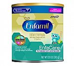 Enfamil EnfaCare Baby Formula 12.8 oz Powder Can (Pack of 6) $2.09