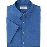 UNIQLO Men's Linen Short Sleeve Shirts $9.90