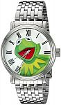Disney Muppets Men's W002349 Analog Display Analog Quartz Silver Watch $7.94