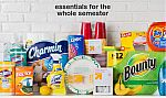 $10 Gift Card with Purchase of 3 Cleaning Items + 10% Off (36-Count Bounty Giant Roll Paper Towels + $10 Target Gift Card $38 and more)