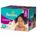 2-Boxes of Pampers Diapers Super Pack + $15 Target Gift Card $45