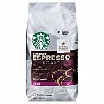 3-Pack 12oz Starbucks Ground or Whole Bean Coffee $16