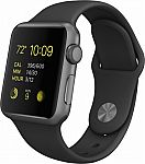 Apple Watch Sport 38mm Space Gray Aluminum Case (Certified Refurbished) $160