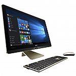 "Asus Zen AiO Pro Z240-C3 Signature Edition 23.8"" FHD Touchscreen AIO Desktop (Core i5-6400T 8GB 1TB GeForce 950) $800"
