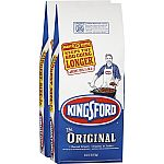 2-Pack of 18.6 lbs Kingsford Charcoal Briquettes $10