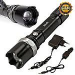 Tactical Police Heavy Duty 3W Rechargeable Flashlight $9.99