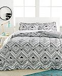 3-Piece Comforter Sets $17