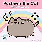 Pusheen the Cat 2017 Wall Calendar $10.99