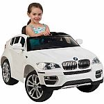 Huffy BMW X6 6-Volt Battery-Powered Ride-On $107