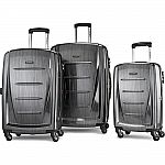 "Samsonite Winfield 2 Fashion Hardside 3 Piece 20"", 24"", 28"" Spinner Luggage Set $249"
