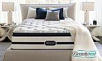 Simmons Beautyrest Recharge Plush Pillowtop Mattress Set: Twin $405, Full $500, Queen $550