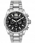 Citizen Men's Chronograph Eco-Drive Shadowhawk Stainless Steel Bracelet Watch 43mm CA4170-51E $99