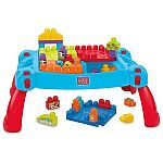 Mega Bloks Build 'n Learn Table Building Set $29