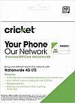 Cricket Wireless BYOD SIM Kit $1