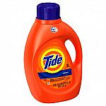 2X 100oz Tide Liquid Laundry Detergent + $5 Target GC for $14 and more