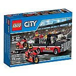 LEGO City Great Vehicles Racing Bike Transporter $12.63, and More Sets on Sale