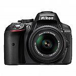 Nikon D5300 24.2 MP Digital SLR Camera with 18-55mm VR AF-P DX Lens $420