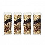 8-Piece Glasslock 60oz. Airtight Containers $9.98 for Member, $10.98 for Non-member
