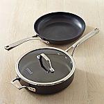 Calphalon Elite Nonstick 3-Piece Fry Pan & Sauté Pan Set $79.95
