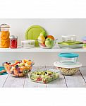 Pyrex 10-Piece Simply Store Set with Colored Lids $11.25