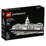 LEGO Architecture 21030 United States Capitol Building Kit (1032 Piece) $75, Buckingham Palace Building Kit $37