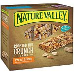 Nature Valley Roasted Nut Crunch (6 bars) $2