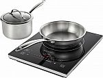 Insignia 4-Pc Induction Cooktop Set $50