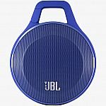 JBL Clip Portable Bluetooth Speaker (Blue) $20