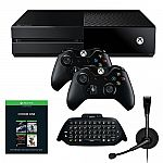 Xbox One 500GB Pick Your Game Bundle with Chatpad + 2 Controller and more + $60 Kohl's cash $300