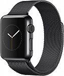 Apple Watch (first-generation) 42mm Space Black Stainless Steel Case $249