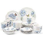 Butterfly Meadow Blue 28-piece Dinnerware Set by Lenox $179.95