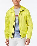 Tommy Hilfiger Men's Tranquil Windbreaker $26, Levi's French Terry Trucker $22 and more