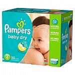 Get $25 Gift Card with $100 Purchase on Baby Diapers, Formula, Wipes, and More