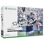 Xbox One S Madden NFL 17 Bundle (1TB) + Bonus Xbox One Game + Wireless Controller $349