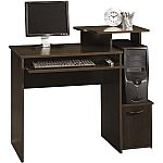 Sauder Beginnings Cinnamon Cherry Computer Desk $25 YMMV
