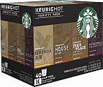 Keurig Starbucks Variety Pack K-Cups (40-Pack) $20