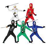 Ninja Costume for Kids Halloween Fancy Dress $26