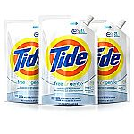 3-Pack 48oz Tide Liquid Laundry Detergent $14 (Prime Member Only)