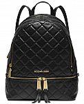 MICHAEL Michael Kors Rhea Zip Mini Pyramid Stud Messenger Backpack $116.10 and more