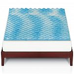 The Big One Gel Memory Foam Mattress Topper 25.50 and more