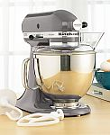 KitchenAid KSM150PSSM Artisan 5 Qt. Stand Mixer $180