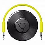 Google Chromecast Audio - WiFi Audio Streaming (Latest Model) $25