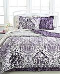 8-Pc Bedding Ensemble (Comforter, Shams, Sheet Set & More) $18